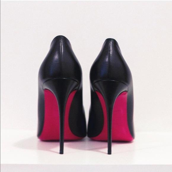 589c10a10b1b Christian Louboutin Shoes - Tico Stiletto Black Leather Pump